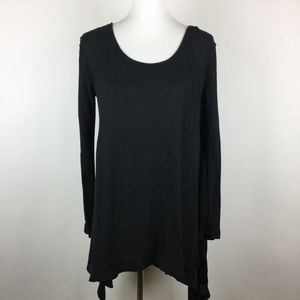 We The Free Top Size M Oversized Asymmetrical